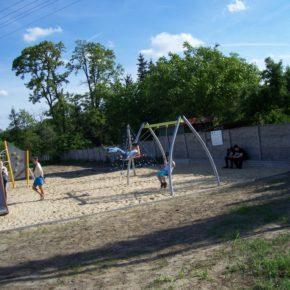 Budowa placu zabaw w miejscowości Obrębizna