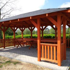 Budowa altany rekreacyjno – edukacyjnej wraz z wyposażeniem
